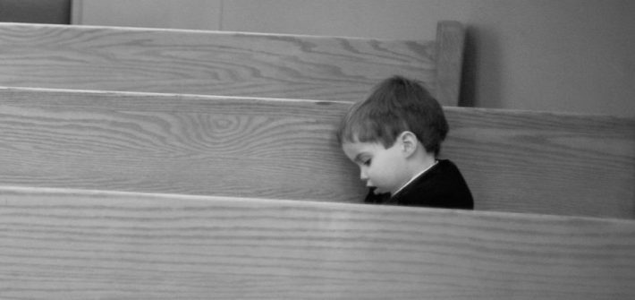 Austin in church in Washington DC