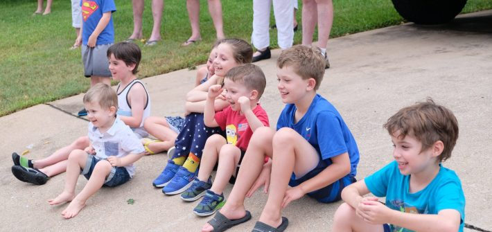 Brimley kids watching fireworks after death of Shawn