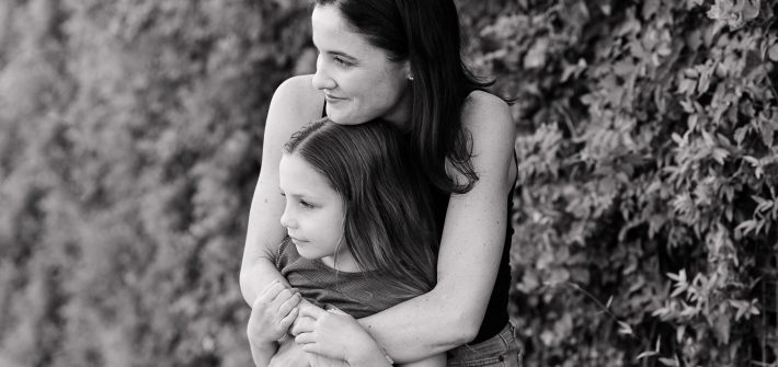 DC widow blogger Marjorie Brimley hugs her daughter Claire