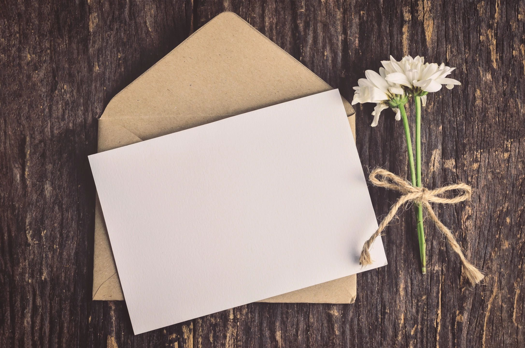 A Valentine's Day note and flowers for DC widow blog writer Marjorie Brimley
