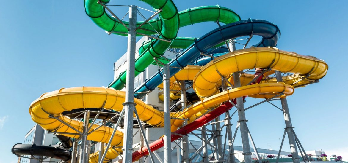 Waterpark image similar to one visited by DC widow blog writer Marjorie Brimley