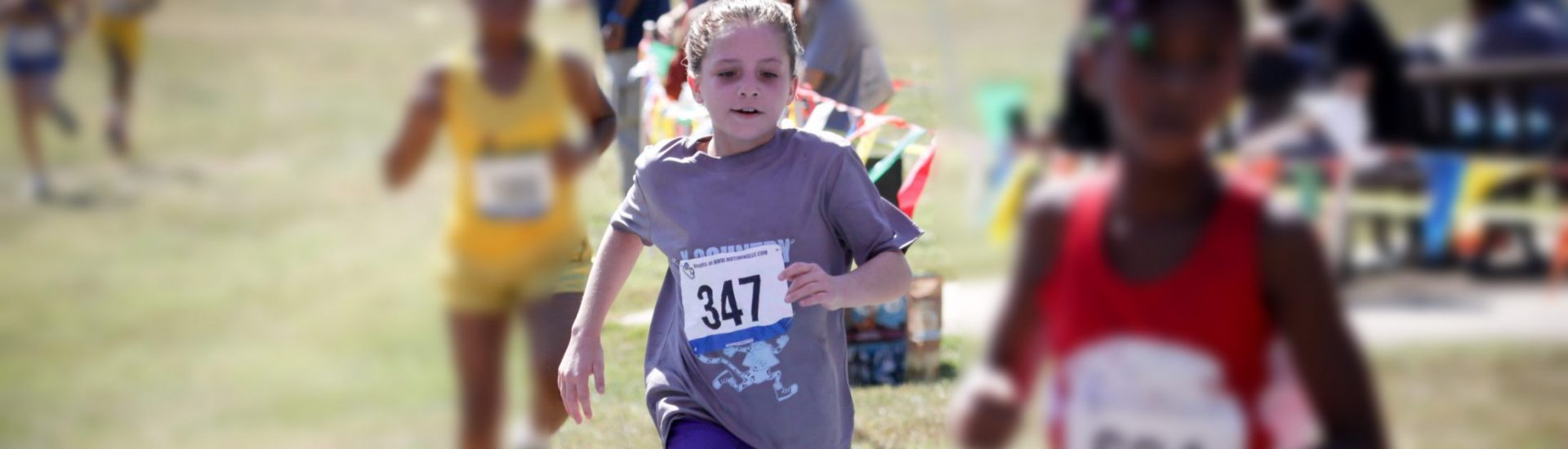 Daughter of DC widow blog writer Marjorie Brimley runs in cross country race