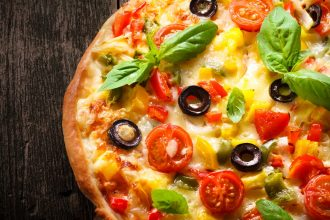 Pizza with pineapple like that discussed by DC widow blog writer Marjorie Brimley