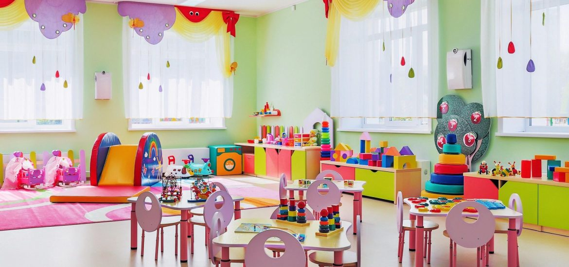 Kindergarten classroom similar to that of son of DC widow blog writer Marjorie Brimley
