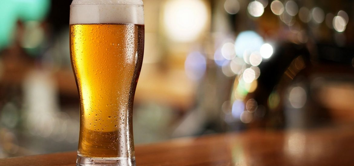 Glass of beer for blog by DC widow writer Marjorie Brimley