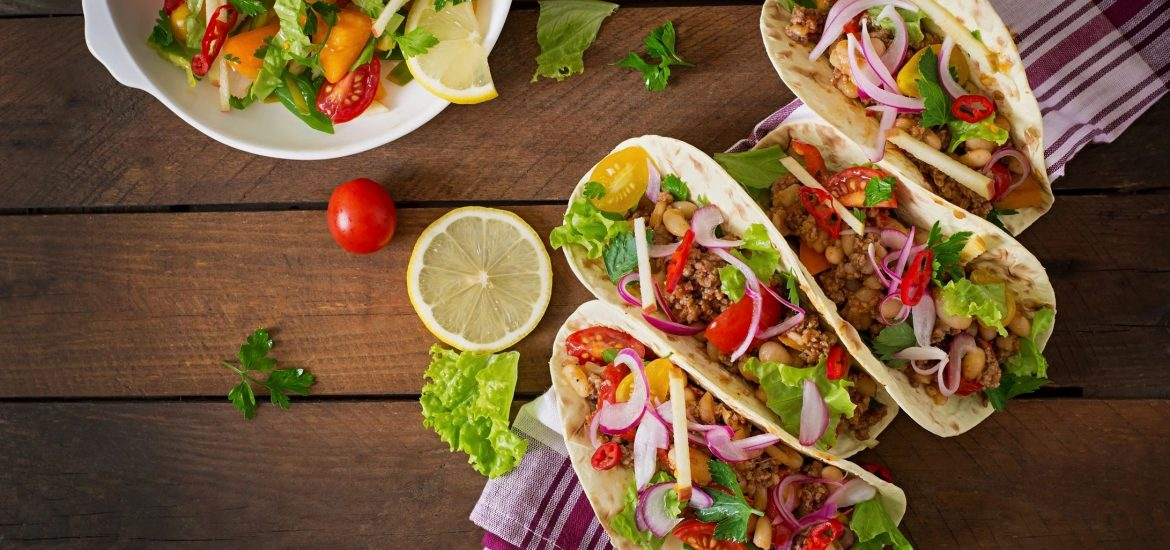 Tacos for blog by DC widow writer Marjorie Brimley