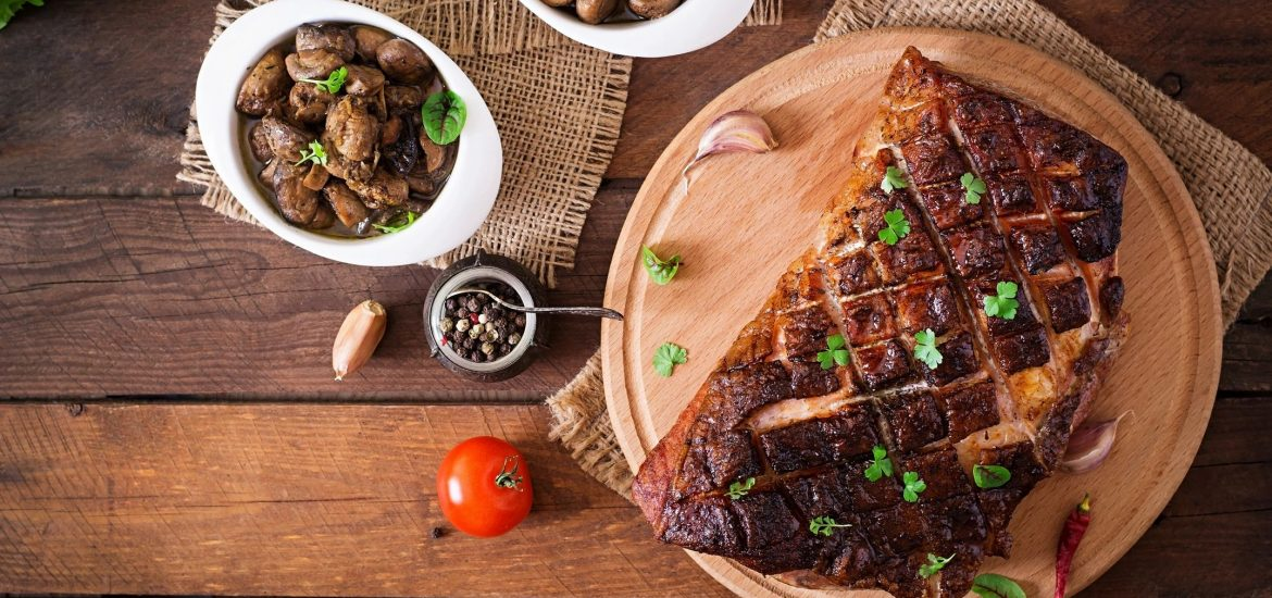 Meat on table for blog by DC widow writer Marjorie Brimley