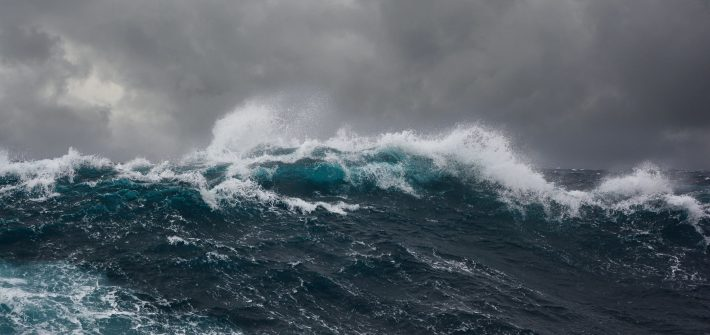 Crashing ocean waves for blog by DC widow writer Marjorie Brimley