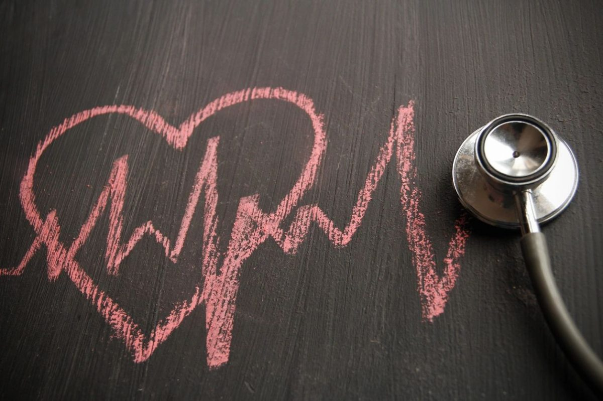 Pink heart and heartbeat for blog by DC widow writer Marjorie Brimley