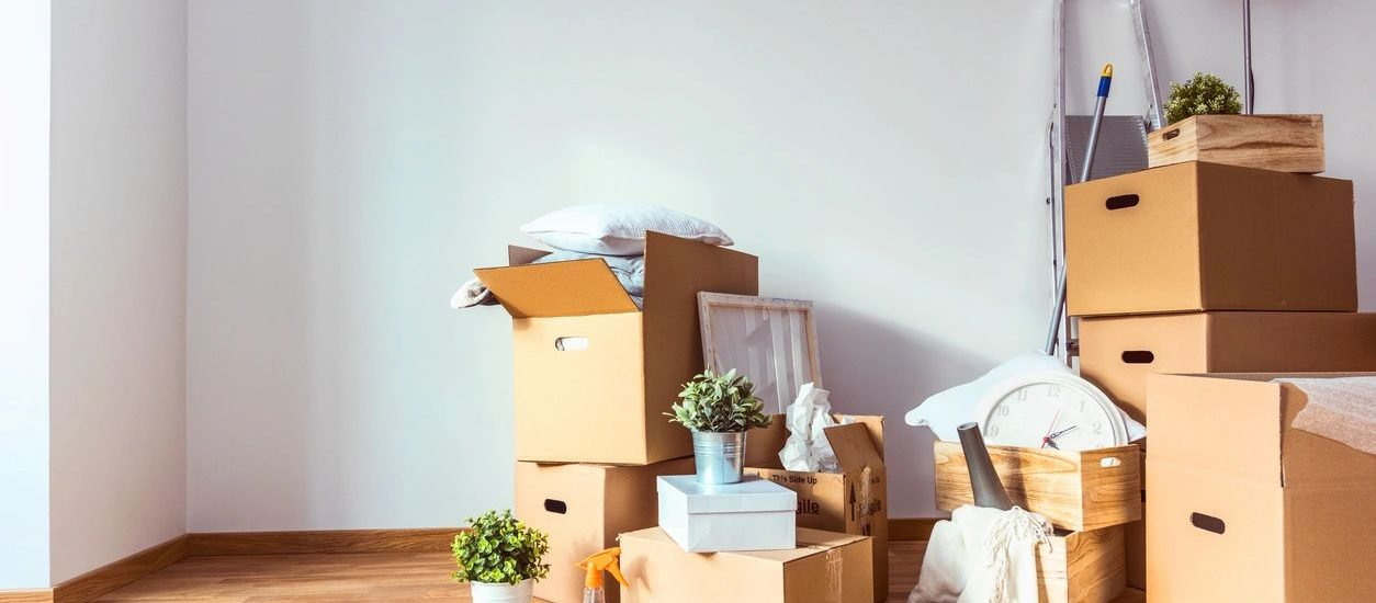 moving boxes for blog by DC widow writer Marjorie Brimley